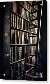 Time Is A Book Acrylic Print