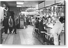 Times Square Arcade, 1964 Acrylic Print by Fred W. McDarrah
