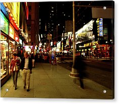 Time Square, One Acrylic Print