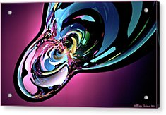 Acrylic Print featuring the digital art Timothy by Missy Gainer