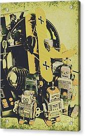 Tin Sign Toys Acrylic Print