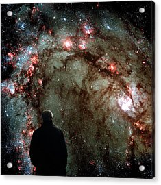 Acrylic Print featuring the photograph To Boldly Go Where No Man Has Gone Before by Bill Swartwout Fine Art Photography