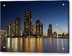 Tokyo Night View Acrylic Print
