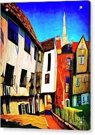 Tombeland Alley Acrylic Print