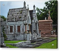 Tombs And Graves Acrylic Print