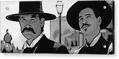 Tombstone Earp Holliday Acrylic Print