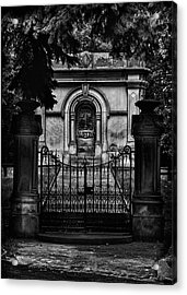 Acrylic Print featuring the photograph Tombstone Shadow No 6 by Brian Carson