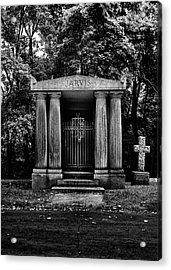 Acrylic Print featuring the photograph Tombstone Shadow No 7 by Brian Carson