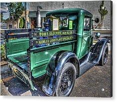 Tom's Electric Truck Acrylic Print