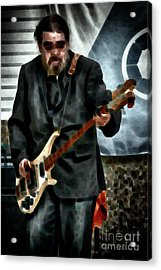 Too Much Bass  Acrylic Print by Steven Digman