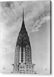 Top Of The Chrysler Building Acrylic Print by Frederic Lewis