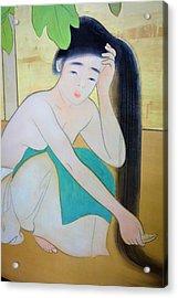 Top Quality Art - Island Women #4 Acrylic Print