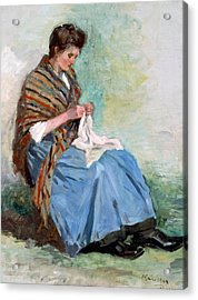 Top Quality Art - Sewing Acrylic Print