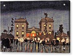 Top Quality Art - Shinbashi Station Acrylic Print