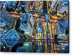 Top View Of Bangkok , Thailand Acrylic Print