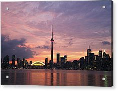 Toronto Acrylic Print by Js`s Favorite Things