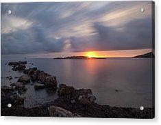 Total Calm In An Ibiza Sunrise Acrylic Print