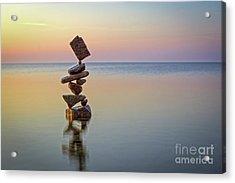 Total Zen Acrylic Print