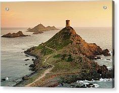 Tour De La Parata And The Islands Of Acrylic Print