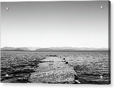 Towards The Nahuel Huapi Lake Acrylic Print