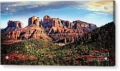Acrylic Print featuring the photograph Towering Red Rocks by Scott Kemper
