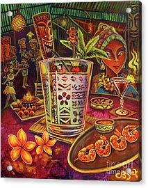 Trader Vic Mai Tai Acrylic Print