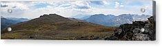 Trail Ridge Road Arctic Panorama Acrylic Print