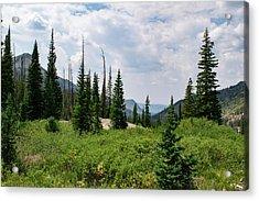 Trail To Gilpin Lake Acrylic Print