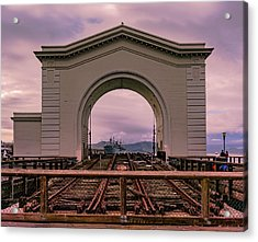 Train To Nowhere Acrylic Print