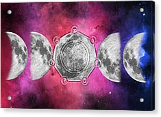 Acrylic Print featuring the digital art Transformation by Bee-Bee Deigner