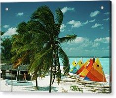 Treasure Cay Acrylic Print by Slim Aarons