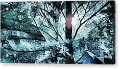Tree Of Glass Acrylic Print