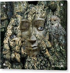 Tree People Acrylic Print