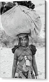 Tribes Portrait Acrylic Print