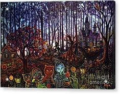 Trick Or Treat Sleepy Hollow Acrylic Print