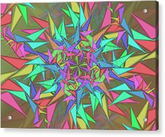 Trigonometry Acrylic Print