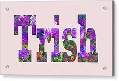 Trish Acrylic Print