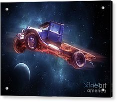 Truck Trek Acrylic Print