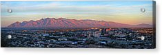 Tucson At Last Light Acrylic Print