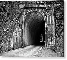Tunnel Acrylic Print by Leland D Howard
