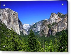Acrylic Print featuring the photograph Tunnel View Of Yosemite 2 by Dawn Richards