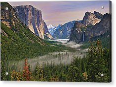 Tunnel View. Yosemite. California Acrylic Print