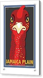 Turkey Stare Jp Acrylic Print
