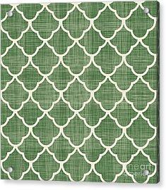 Turkish Traditional Seamless Pattern Acrylic Print