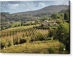 Tuscan Valley Acrylic Print