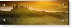Tuscany In Gold Acrylic Print