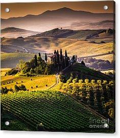 Tuscany, Italy - Landscape Acrylic Print