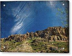 Tuscon Clouds Acrylic Print