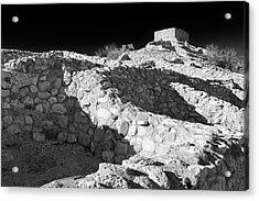 Tuzigoot National Monument Acrylic Print by Richard Cummins