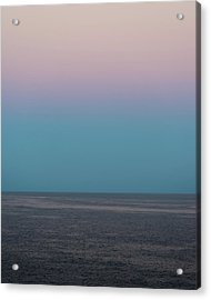 Acrylic Print featuring the photograph Twilight At Sea by William Dickman